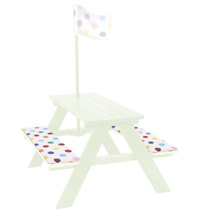Afbeelding van 2 zitkussens voor kinderpicknicktafel from ColliShop