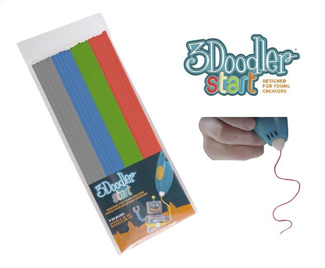 Afbeelding van 3Doodler navulset grijs, blauw, groen en rood from ColliShop
