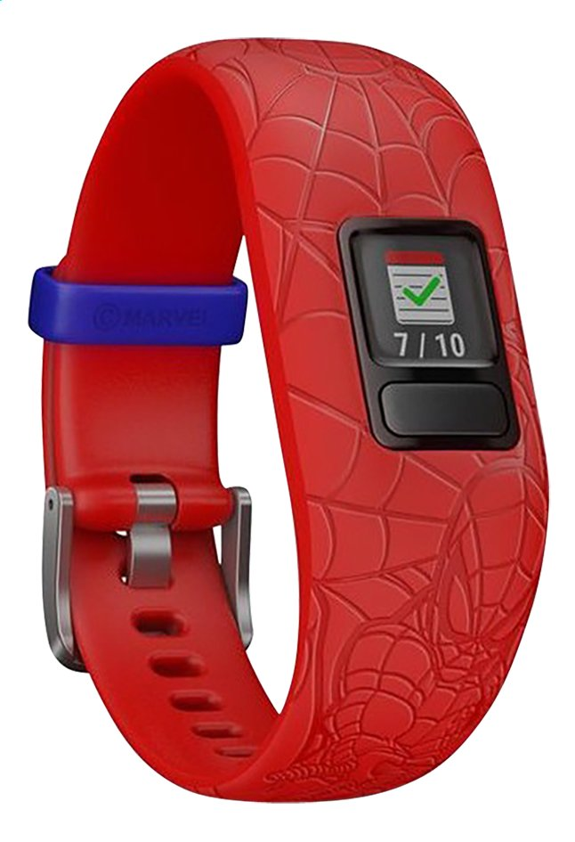 Garmin bracelet connecté Vivofit junior 2 Spider-Man rouge