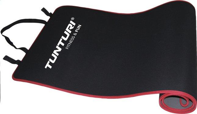 Image pour Tunturi tapis de fitness noir/rouge à partir de ColliShop