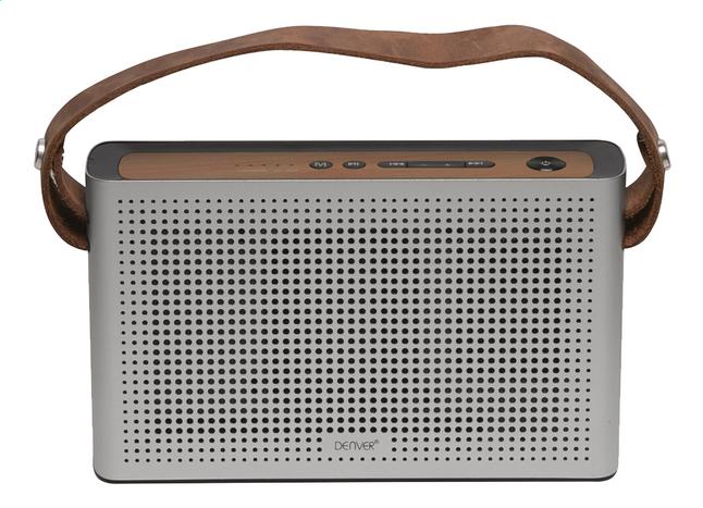 Image pour Denver haut-parleur Bluetooth BTS-200 argent/brun à partir de ColliShop