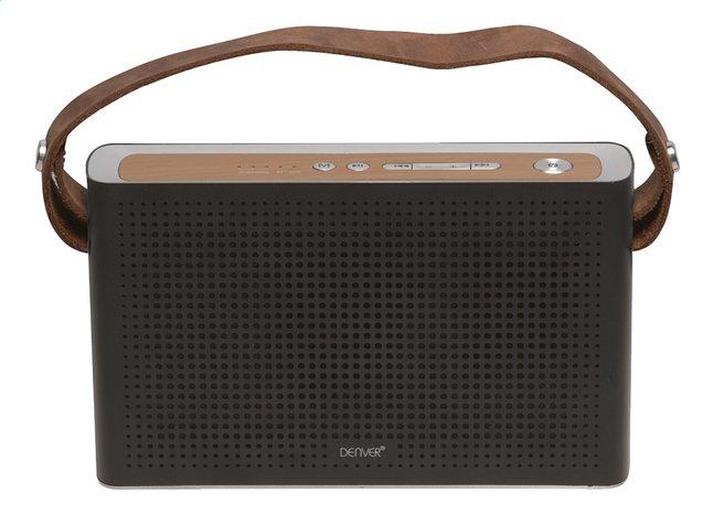 Denver haut-parleur Bluetooth BTS-200 noir/brun