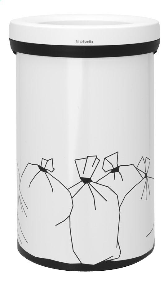 Image pour Brabantia Poubelle Open Top blanc 60 l déchets ordinaires à partir de ColliShop