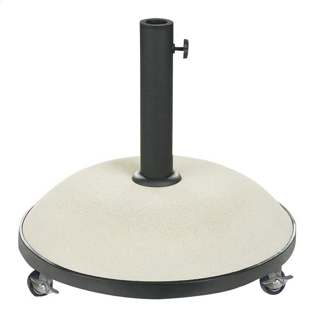 Image pour Pied de parasol béton 35 kg blanc à partir de ColliShop