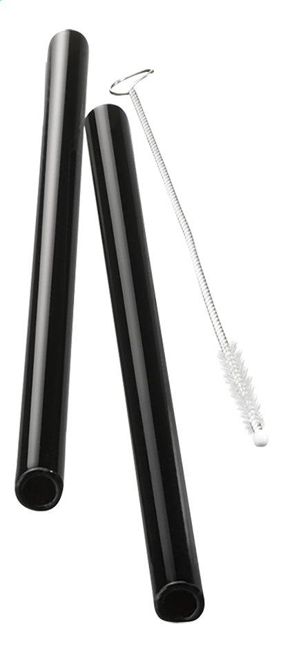 Image pour Gefu 4 pailles à cocktail Future avec écouvillon à partir de ColliShop