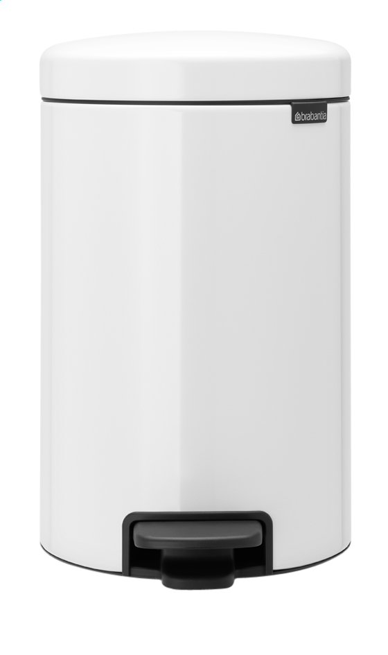Afbeelding van Brabantia Pedaalemmer NewIcon wit 12 l from ColliShop