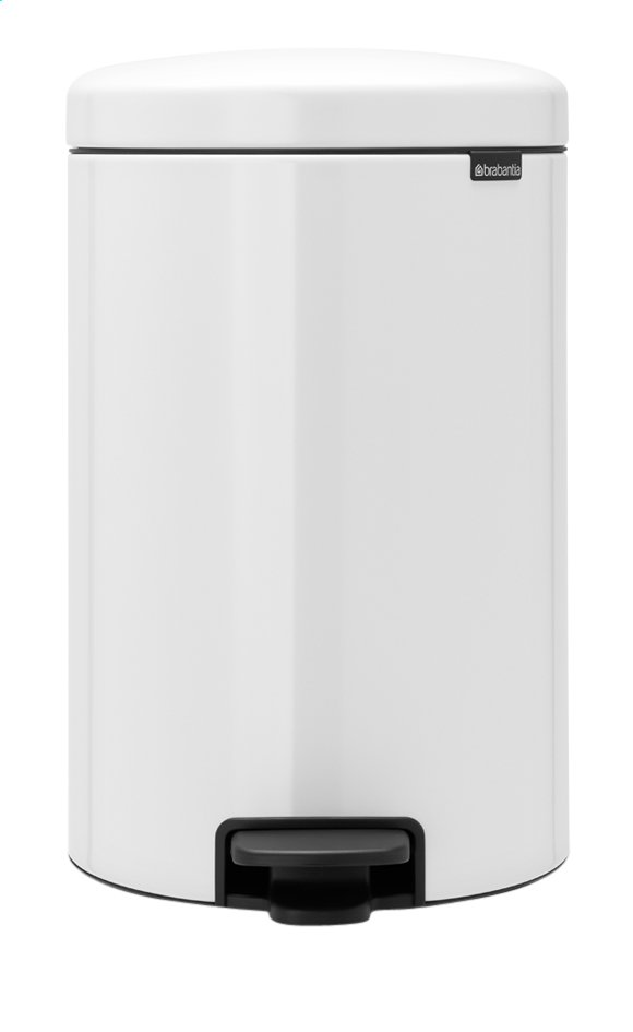 Afbeelding van Brabantia Pedaalemmer newIcon wit 20 l from ColliShop