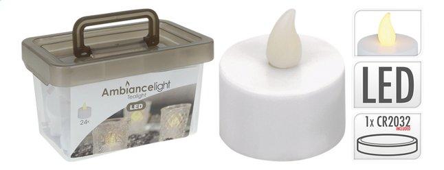 Image pour Bougies chauffe-plat dans une boîte - 24 pièces à partir de ColliShop