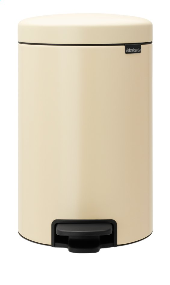 Afbeelding van Brabantia Pedaalemmer NewIcon almond 12 l from ColliShop