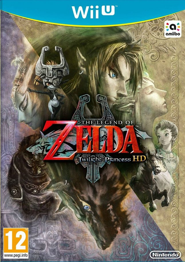 Afbeelding van Wii U Zelda Twilight Princess ENG from ColliShop