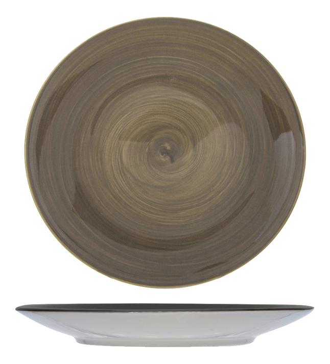 Afbeelding van Cosy & Trendy 6 borden Invertida Ø 27,5 cm grijs from ColliShop