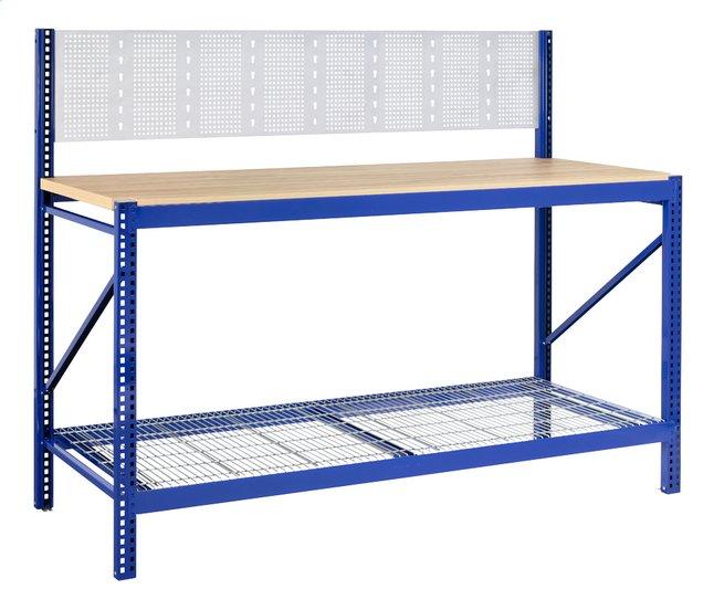 Image pour Avasco Établi Work bleu Lg 190 cm à partir de ColliShop