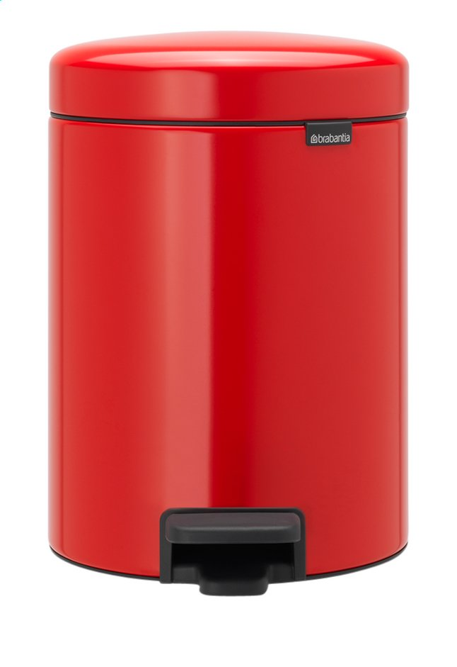 Afbeelding van Brabantia Pedaalemmer NewIcon passion red 5 l from ColliShop