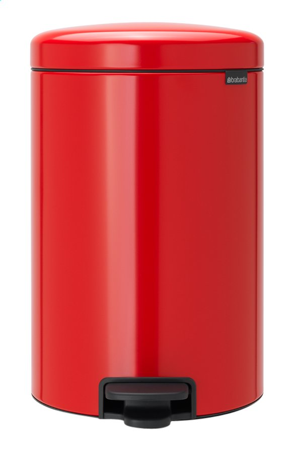 Afbeelding van Brabantia Pedaalemmer newIcon passion red 20 l from ColliShop