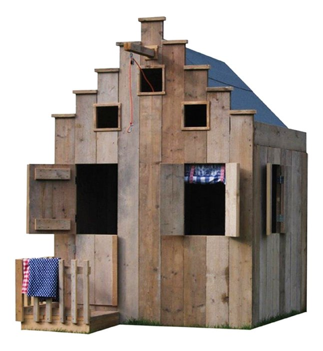 Dutchwood houten speelhuisje Amsterdam