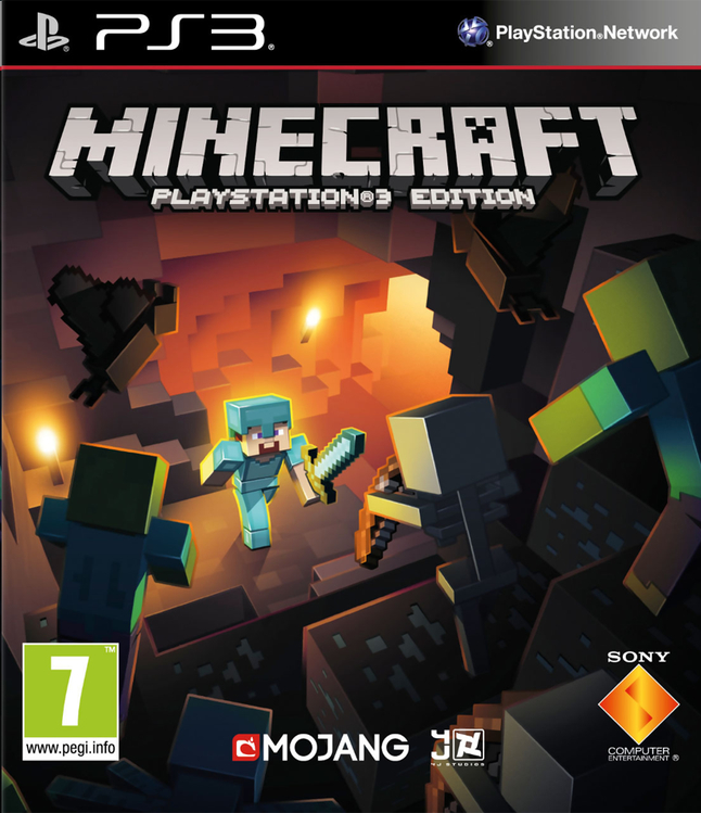 Image pour PS3 Minecraft FR/ANG à partir de ColliShop