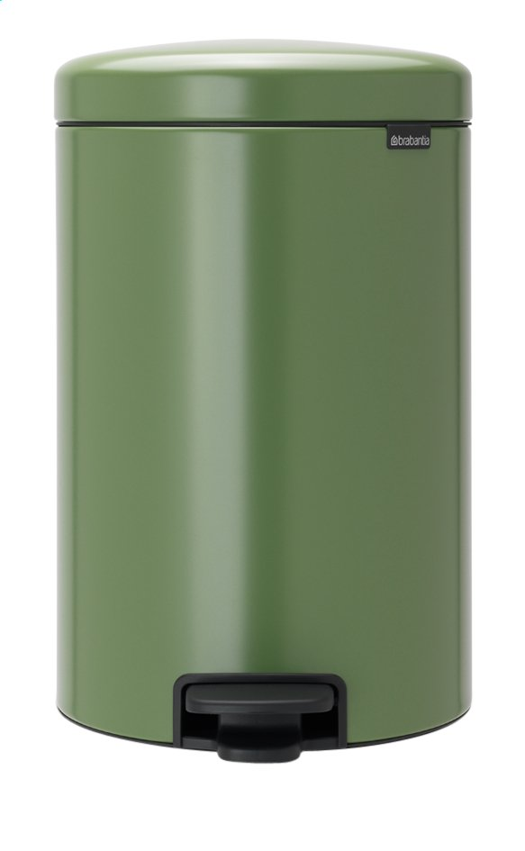 Afbeelding van Brabantia Pedaalemmer NewIcon Moss Green 20 l from ColliShop