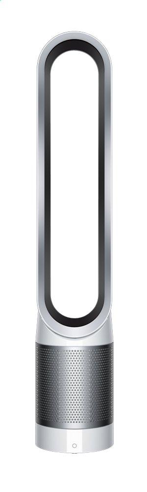 dyson purificateur d 39 air pure cool link tower blanc argent avec fonction ventilateur collishop. Black Bedroom Furniture Sets. Home Design Ideas