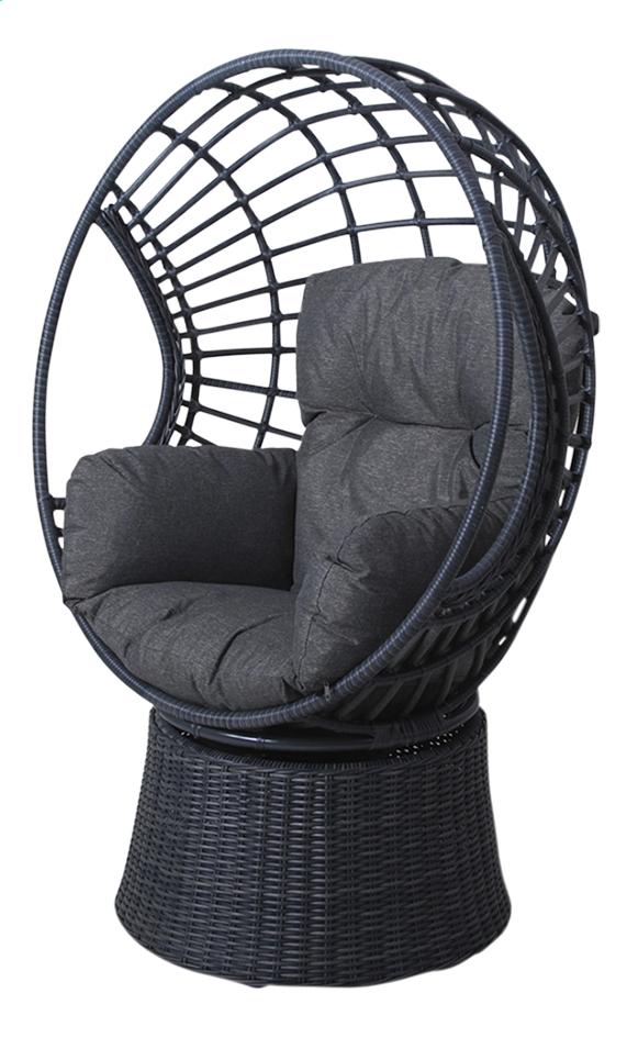 Image pour Fauteuil de jardin Ei Ronda noir à partir de ColliShop