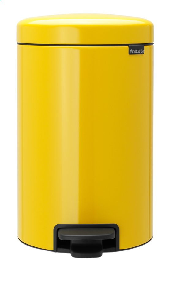 Afbeelding van Brabantia Pedaalemmer newIcon Daisy Yellow 12 l from ColliShop