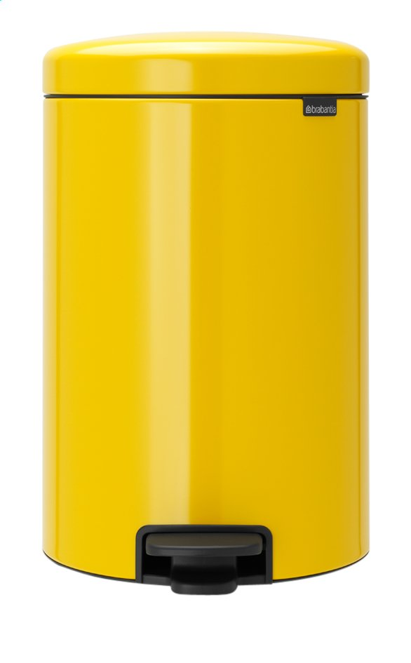 Afbeelding van Brabantia Pedaalemmer newIcon Daisy Yellow 20 l from ColliShop