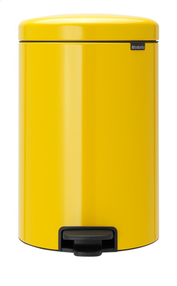 Image pour Brabantia Poubelle à pédale newIcon daisy yellow 20 l à partir de ColliShop