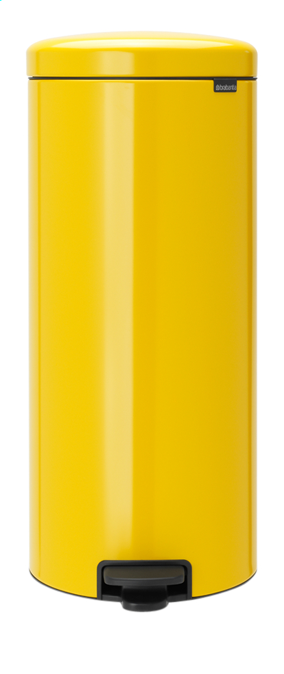 Afbeelding van Brabantia Pedaalemmer NewIcon Daisy Yellow 30 l from ColliShop