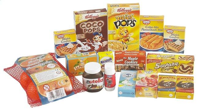 Afbeelding van DreamLand winkelwaren 15-delige ontbijtset from ColliShop