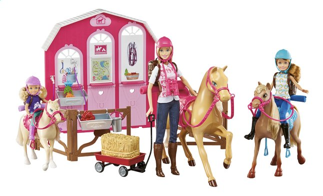 Mattel speelset Barbie Paardenstal | ColliShop