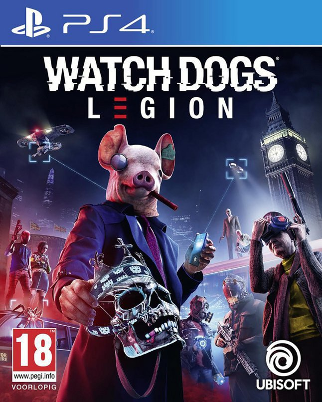 Afbeelding van PS4 Watch Dogs Legion ENG/FR from ColliShop