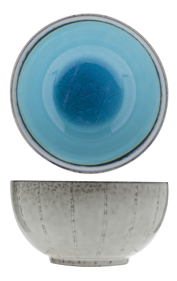 Image pour Cosy & Trendy 6 bols Giana bleu 13,5 cm à partir de ColliShop