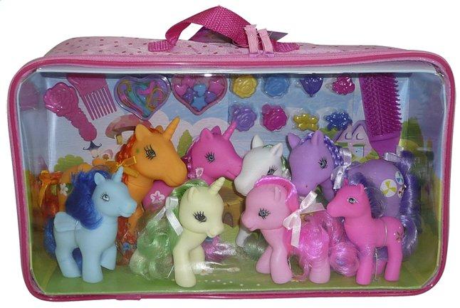 Afbeelding van Speelset paardenfamilie from ColliShop