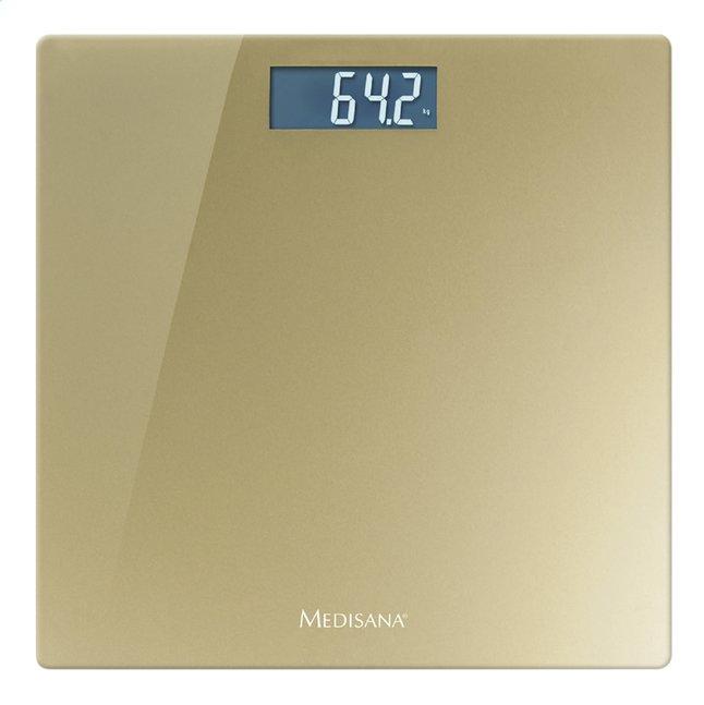 Afbeelding van Medisana Personenweegschaal PS 420 goudkleurig from ColliShop
