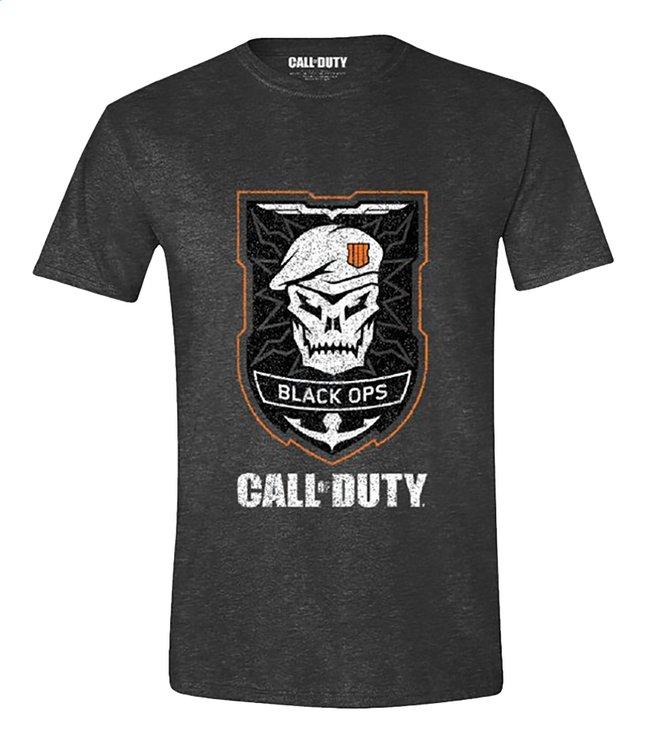 Afbeelding van Call of Duty Black Ops 4 T-shirt Skull grijs M from ColliShop