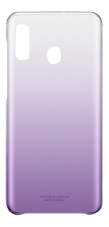 Afbeelding van Samsung Gradation Cover voor Galaxy A20e paars from ColliShop
