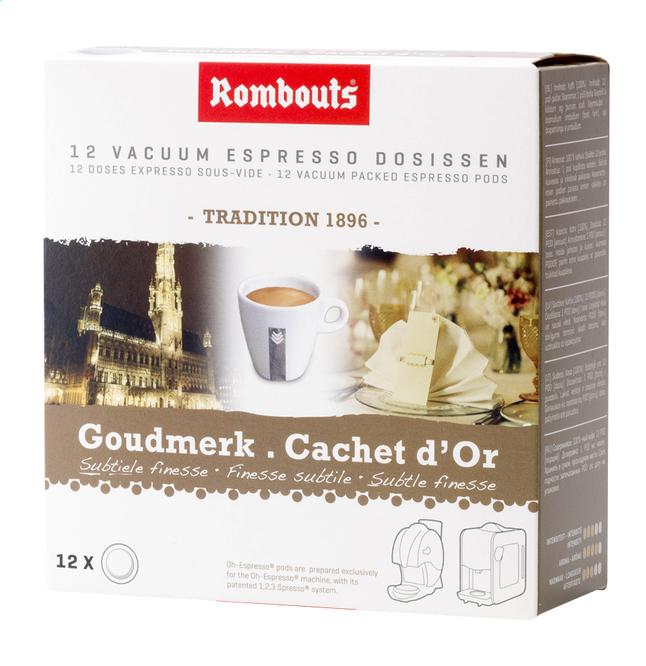 Image pour Rombouts Dosettes de café Cachet d'Or - 7 boîtes à partir de ColliShop