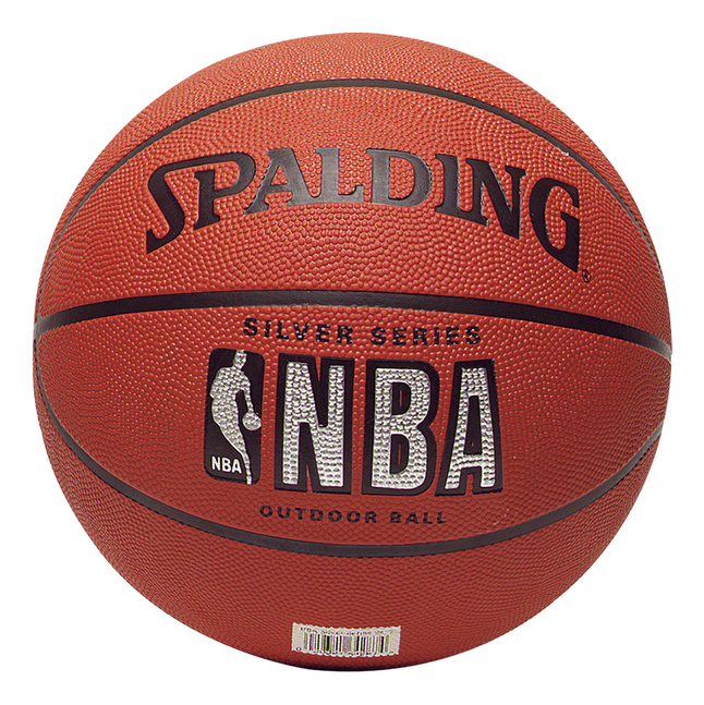 Afbeelding van Spalding NBA basketbal Silver Series maat 5 from ColliShop