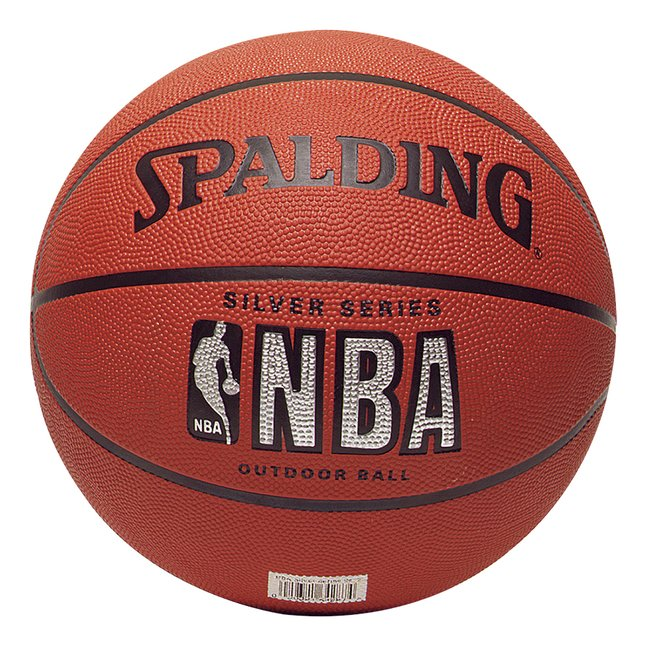 Afbeelding van Spalding basketbal NBA Silver Series maat 7 from ColliShop