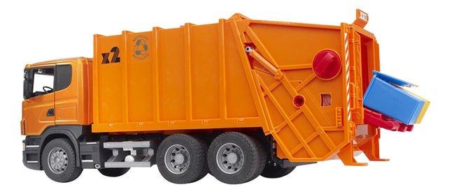 Afbeelding van Bruder vuilniswagen Scania Serie R from ColliShop