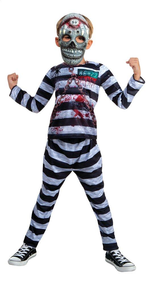 Image pour Déguisement prisonnier + masque taille 128 à partir de ColliShop