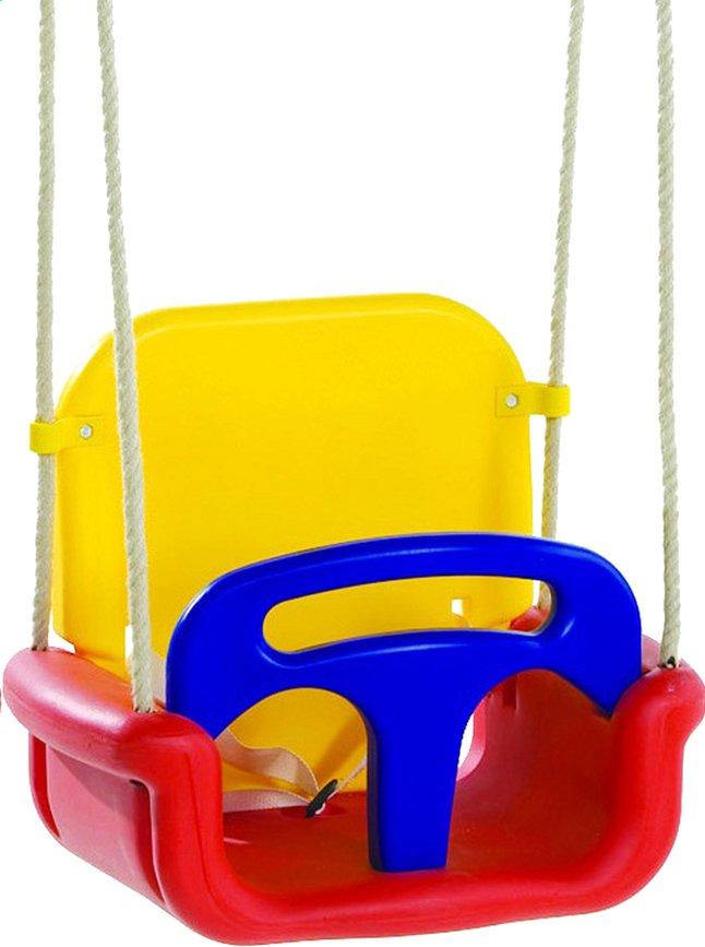 Afbeelding van Meegroeizitje rood/geel/blauw from ColliShop