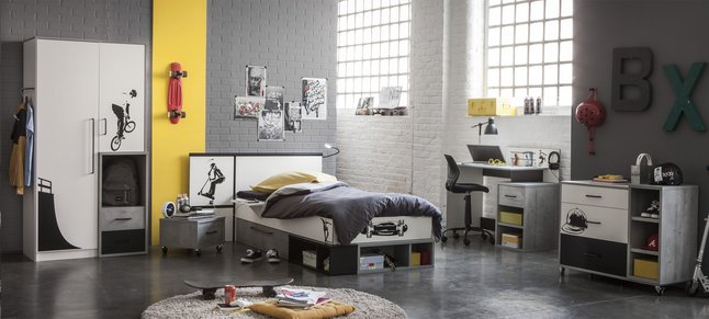 Image pour Chambre 3 éléments Street à partir de ColliShop