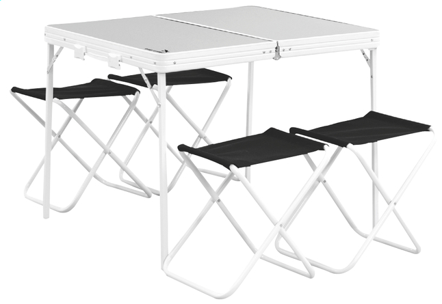 Image pour Easy Camp ensemble table avec chaises de camping pliants Provence à partir de ColliShop