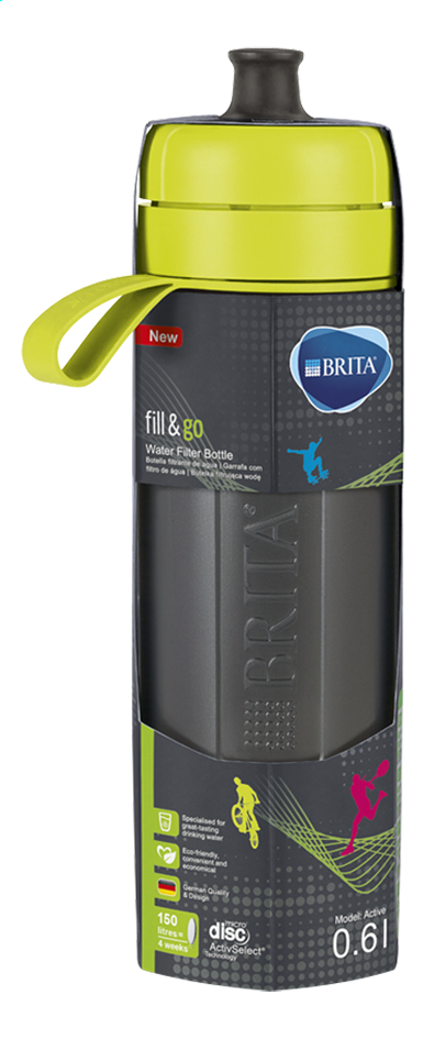 Afbeelding van Brita Drinkbus Fill & Go Active lime 0,6 l from ColliShop