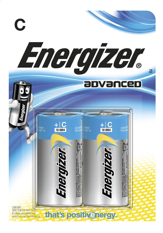 Image pour Energizer 2 piles C Advanced à partir de ColliShop