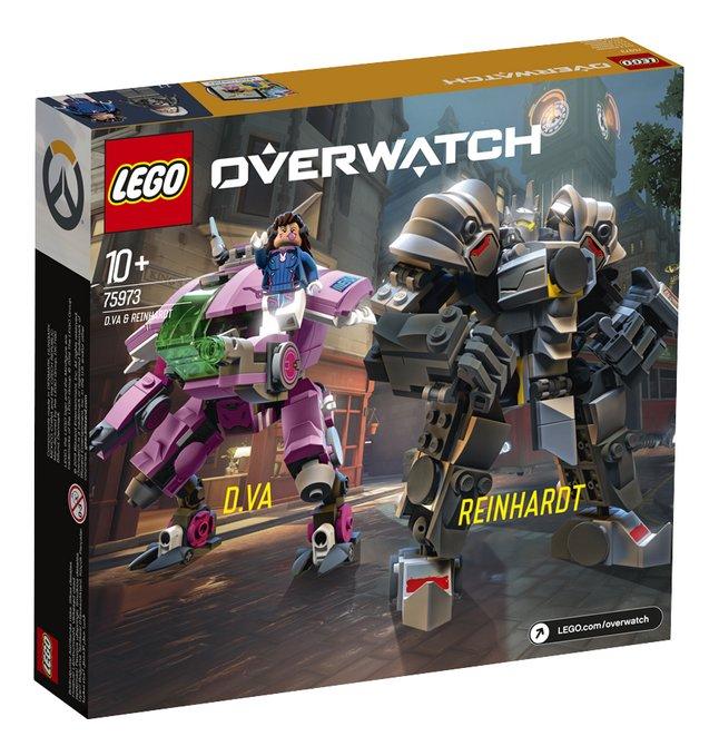 Afbeelding van LEGO Overwatch 75973 D.Va & Reinhardt from ColliShop