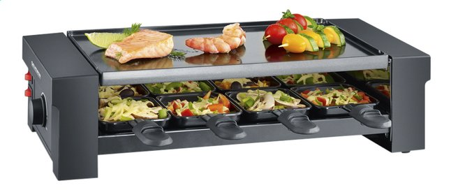 Severin Grill-raclette & pizza RG 2687