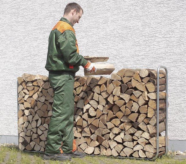 Afbeelding van Wolfcraft stapelhulp voor brandhout from ColliShop