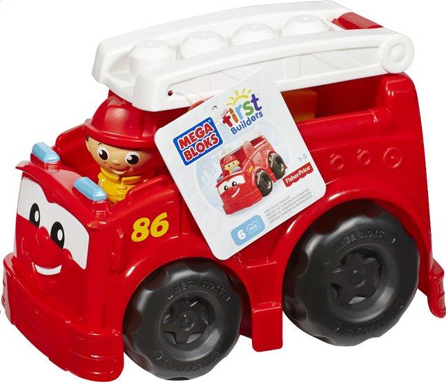 Image pour Mega Bloks First Builders Freddy le camion de pompier à partir de ColliShop
