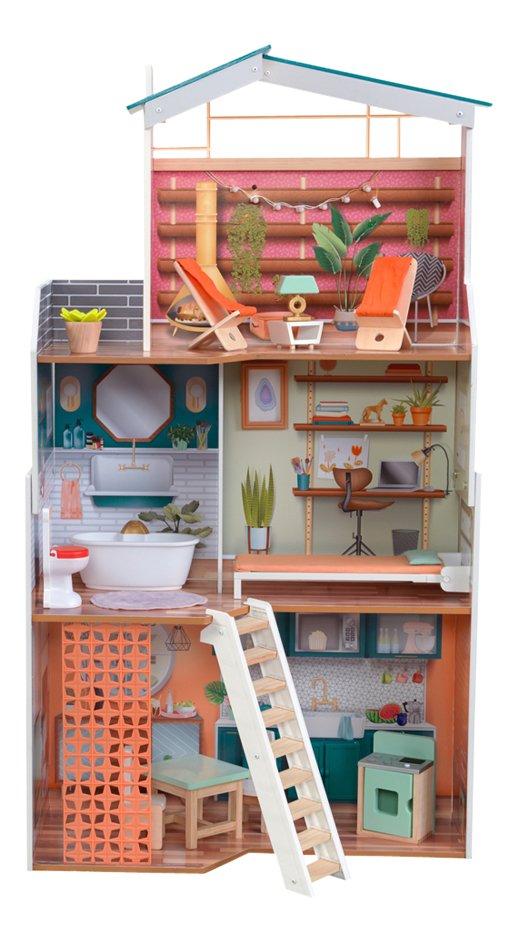 KidKraft maison de poupées en bois Marlow - H 112 cm